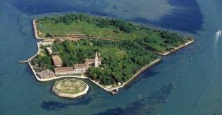 Vista de la isla.